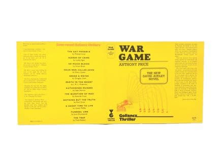 War Game by Anthony Price Dust Jacket Only First Edition Victor Gollancz 1976