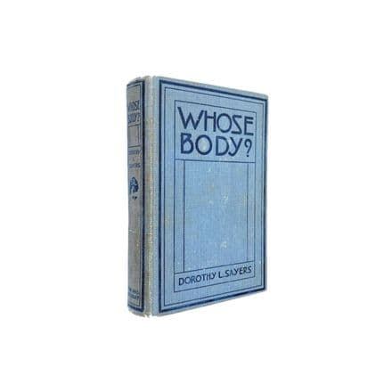 Whose Body? by Dorothy L. Sayers First Edition Boni & Liveright 1923