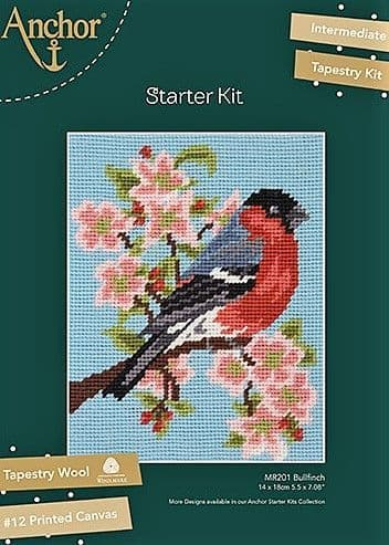 Anchor Tapestry Kit - Bullfinch