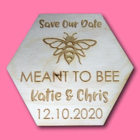 Bee Save the date | bee wedding favour | wedding invitation | Save The Dates | Wedding Invitation |