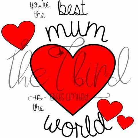 Best Mum Design ~ Mothers day Present ~ Gift for Mum ~ Grandma Gift ~ Birthday Present