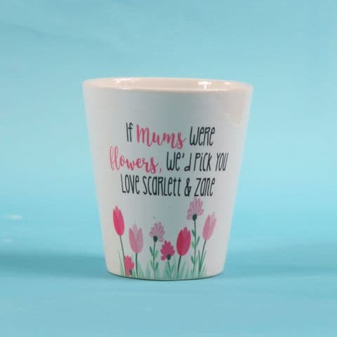 Mum Flower Pot ~ Personalised flower Pot ~ Thank you gift ~ Mothers day gift ~ id pick you