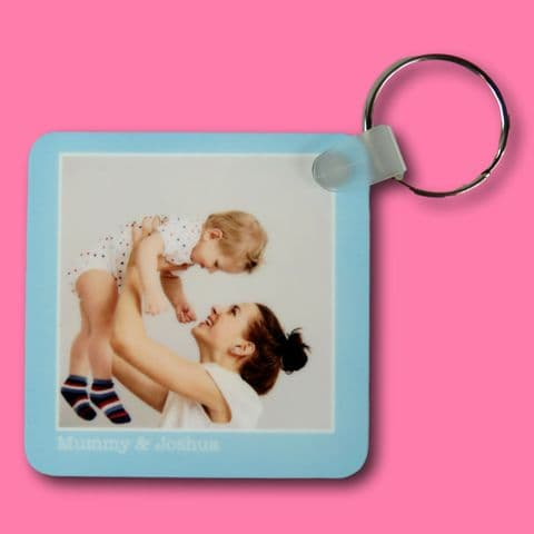 Photo Keyring | special moments present | picture keyring | new car present | memories gift | keep
