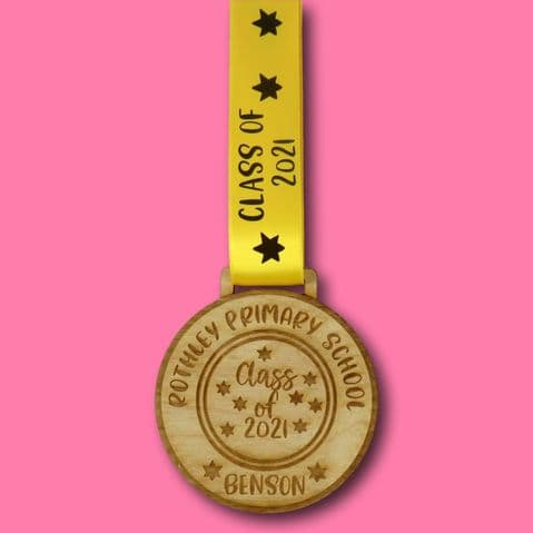 School Leavers medal | personalised medal | class of gift | student gift | end of term gift | gift f