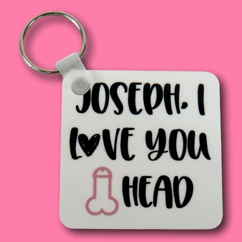 willy head Keyring | funny boyfriend husband present | valentines keyring | funny insult gift