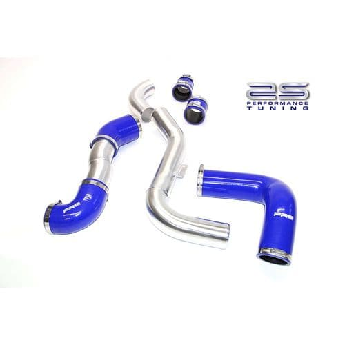 AIRTEC 2.5 INCH BIG BOOST PIPES WITH 70MM COLD SIDE FOR MK2 FOCUS ST (to Suit 70MM throttle body)