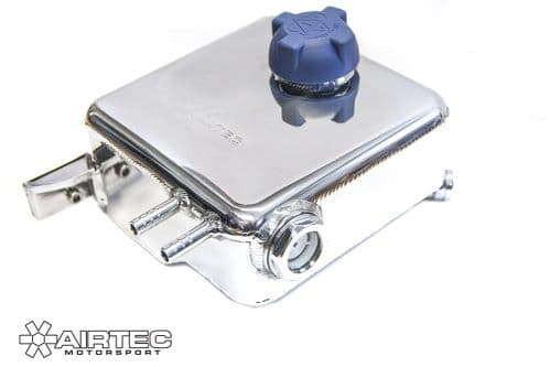 AIRTEC MOTORSPORT LIGHTWEIGHT ALLOY HEADER TANK FOR MK2 FOCUS ST & RS with sight glass