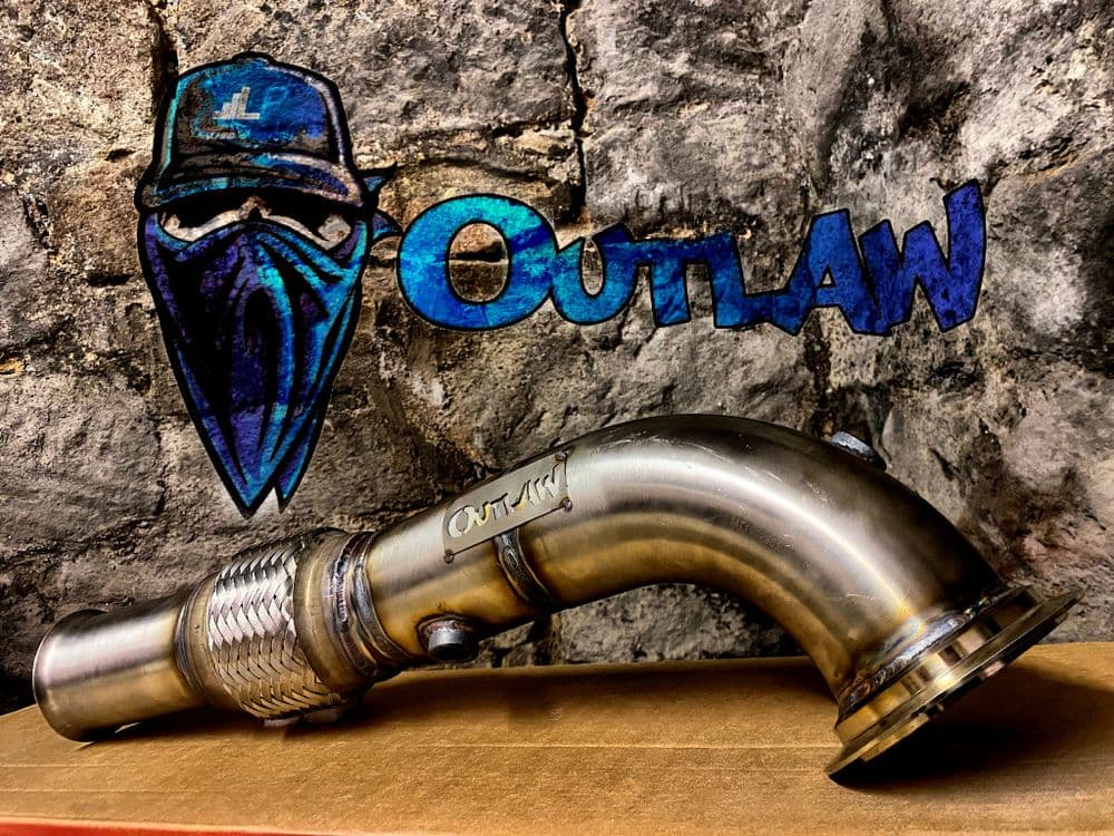 """Fiesta ST MK8 Outlaw 3"""" Decat downpipe **SAVE £50**"""