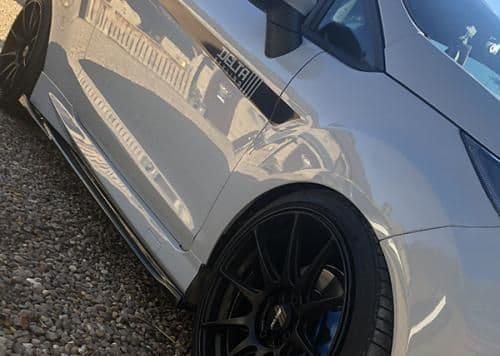 FORD FIESTA MK7/7.5 DELTA S-R SIDE SPLITTERS
