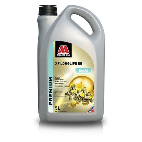 Millers Oils 5w-20 (Recommended)