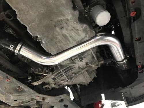 SD Performance Focus MK3 ST 2.5-inch Big Boost Pipes with meth bung