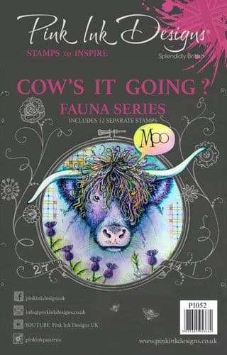 Pink Ink Designs - Cow's It Going A5