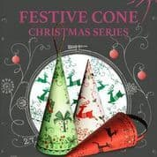 Pink Ink Designs - Festive Cone A5