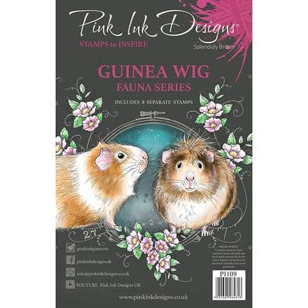 Pink Ink Designs - Guinea Wig A5 Clear Stamp