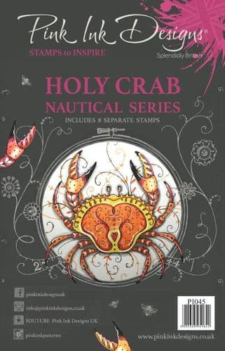 Pink Ink Designs - Holy Crab A5