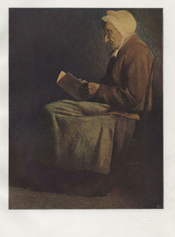 From an Etching in colours, By Mortimer Menpes. An original 1898 Lithograph Print.