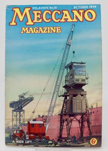 Meccano Magazine  A High Lift  VOL.XXXIV. No.6  October 1949