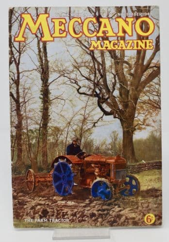 Meccano Magazine  The Farm Tractor  VOL.XXVII. No.11  June 1943