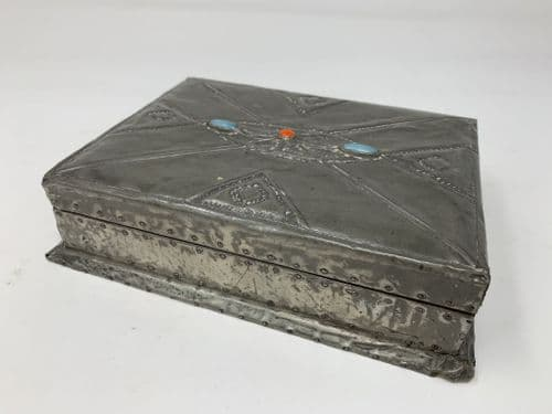 Arts and Crafts MovementPlaying Card Box with Playing Cards Circa 1895