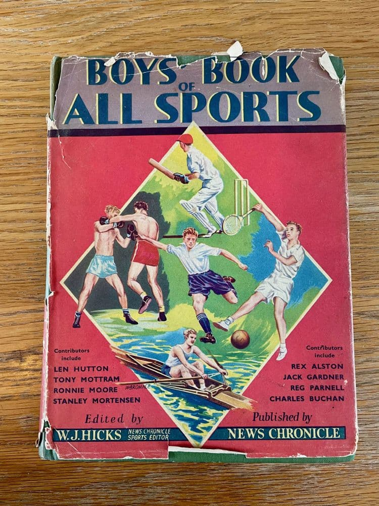 Boys book of all sports – Published by News Chronicle