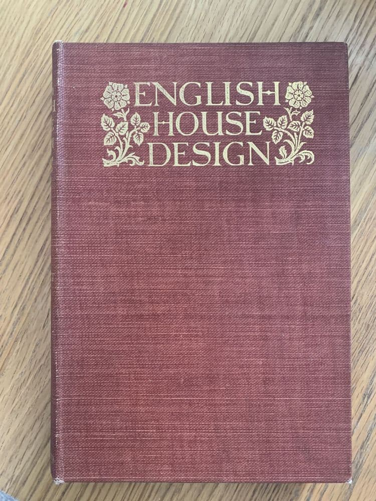 English House Design A Review, by Ernest Willmott