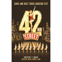42nd street Poster 2018