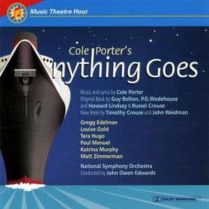 Anything Goes Studio Cast CD