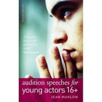 Audition Speeches For young Actors 16 + Book