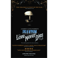 Love Never Dies First Logo Posters