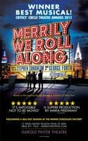 Merrily We Roll Along Folio Size Poster