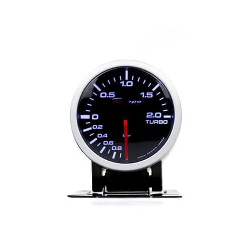 DEPO RACING 52MM BOOST GAUGE -1BAR-2BAR