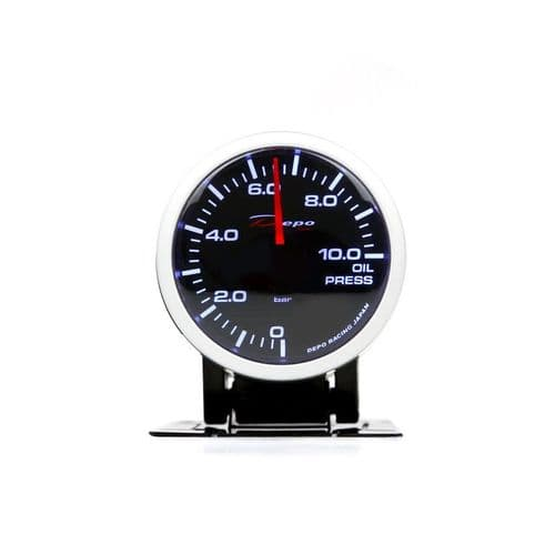 DEPO RACING 52MM OIL PRESSURE GAUGE