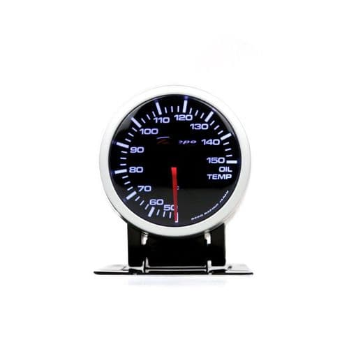 DEPO RACING 60MM OIL TEMP GAUGE