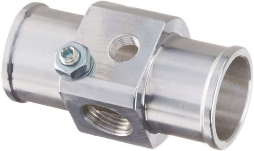 Hasport Hose Adapter  K-series swap with Fan Switch Port (18-1.5) and Temp Sender Port (1/8-27 NPT)