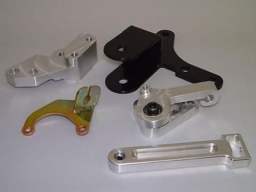 Hasport Hydraulic D-series Trans Conversion Brackets and Lever Assembly Honda Civic/CRX 88-91