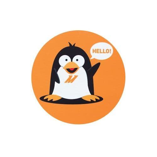 Mishimoto Chilly The Penguin Mouse Pad