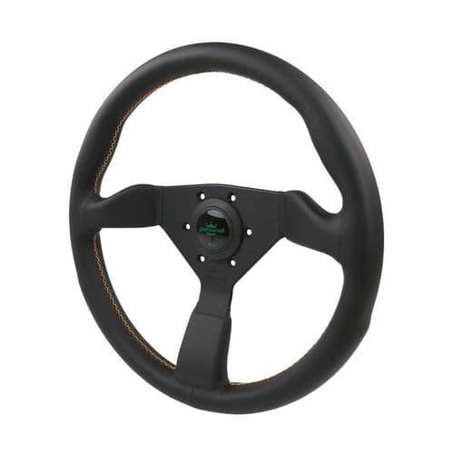 PERSONAL GRINTA KINGSTON LEATHER STEERING WHEEL