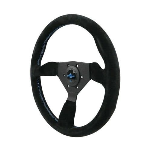 PERSONAL GRINTA SUEDE LEATHER STEERING WHEEL