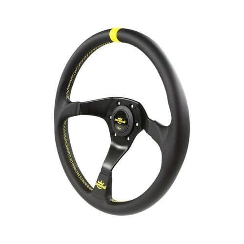 PERSONAL TROPHY LEATHER STEERING WHEEL 350MM