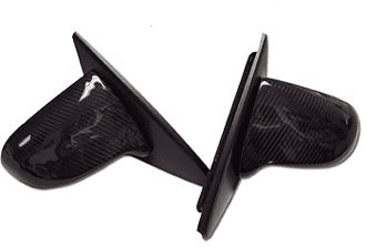SPOON CARBON ELECTRIC RACING SIDE MIRRORS HONDA CIVIC EK4 EK9