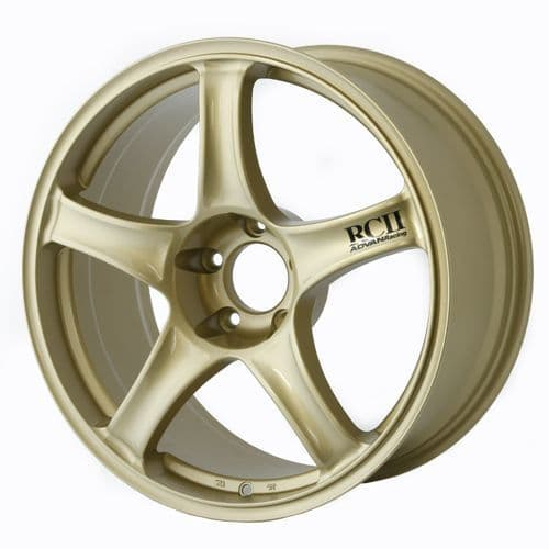 ADVAN RACING RCII 18x9.5 - ET35 - 114.3x5 PCD - GOLD