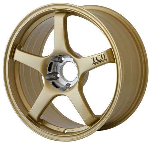 ADVAN RACING TCII 18x9.5 - ET35 - 114.3x5 PCD - GOLD