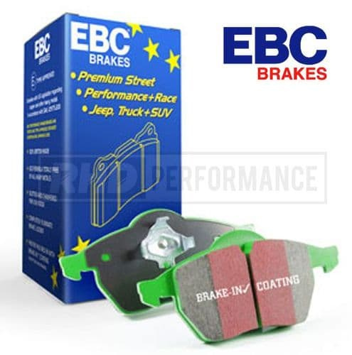 EBC GREENSTUFF BRAKE PADS - HONDA ACCORD CL7