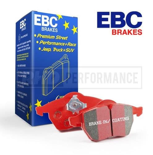 EBC REDSTUFF BRAKE PADS - HONDA ACCORD CL7