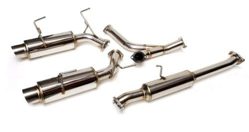HONDA S2000 CAT BACK EXHAUST SYSTEM INC BUNGS