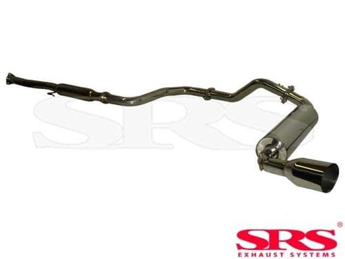 SRS Exhaust Systems G1 Catback System Stainless Steel (Honda CRX 87-93)