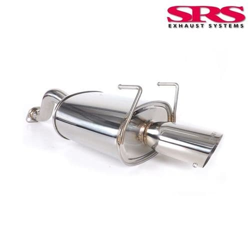 SRS Exhaust Systems G35 Axleback System Stainless Steel Honda Civic EP3 Type R