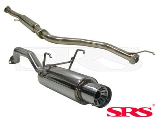 SRS Exhaust Systems G55 Catback System Stainless Steel (Civic 91-01 2/4dr)