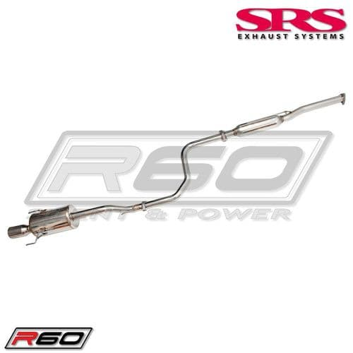 SRS Exhaust Systems R60 Catback System TÜV (Civic 91-01 2/4dr)