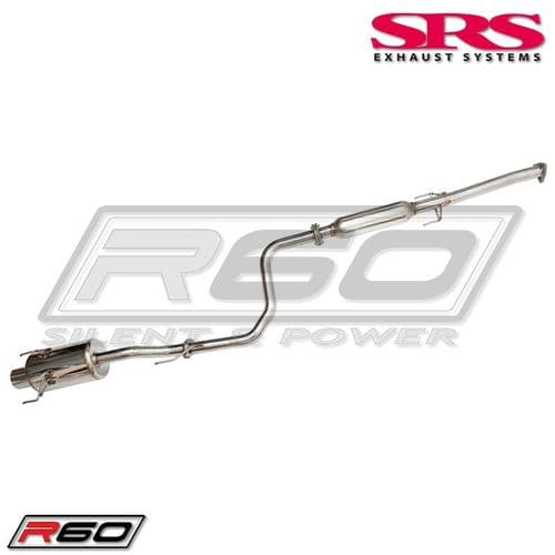 SRS Exhaust Systems R60 Catback System TÜV (HONDA CIVIC EG 92-95 3DR)